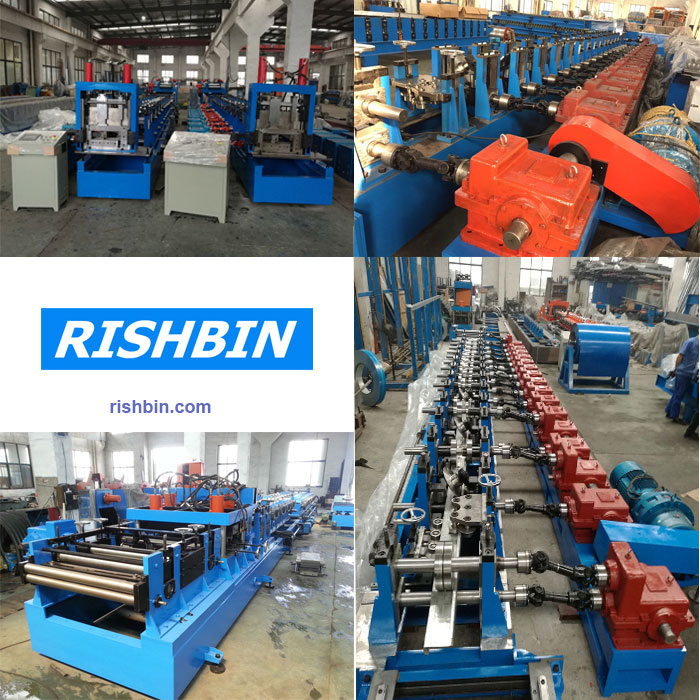 Rishbin produced different types of roll forming machines